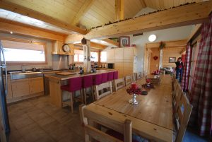 Main Kitchen and Dining Room
